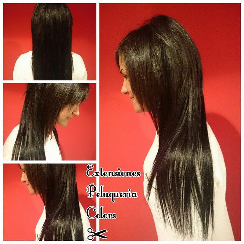 Extensiones de cabello natural, clip.